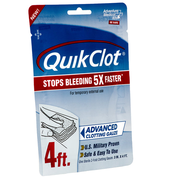 Adventure Medical QuickClot Gauze 3