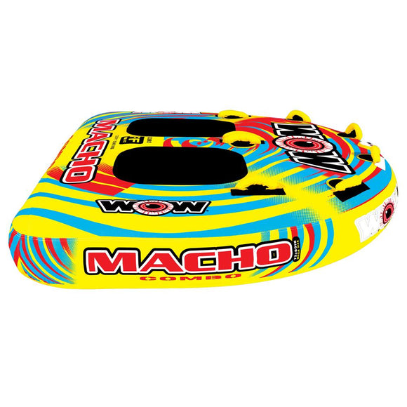 WOW Watersports Macho Combo 2 Towable - 2 Person [16-1010] - Point Supplies Inc.