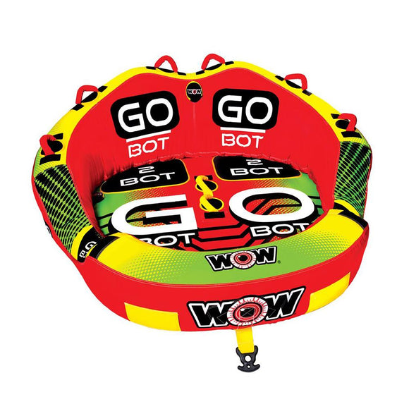 WOW Watersports Go Bot Towable - 2 Person [18-1040] WOW Watersports Point Supplies Inc.