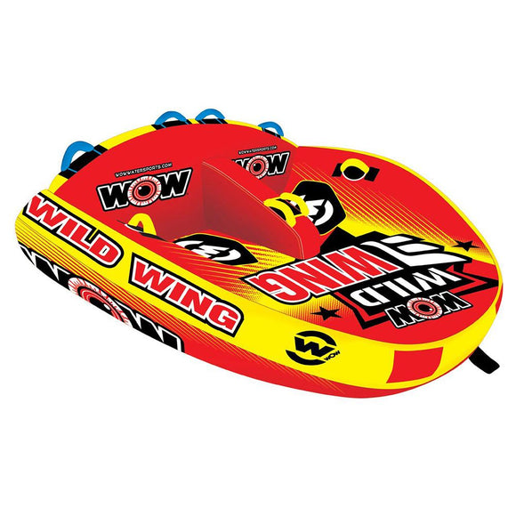 WOW Watersports Wild Wing 2P Towable - 2 Person [18-1120] WOW Watersports Point Supplies Inc.