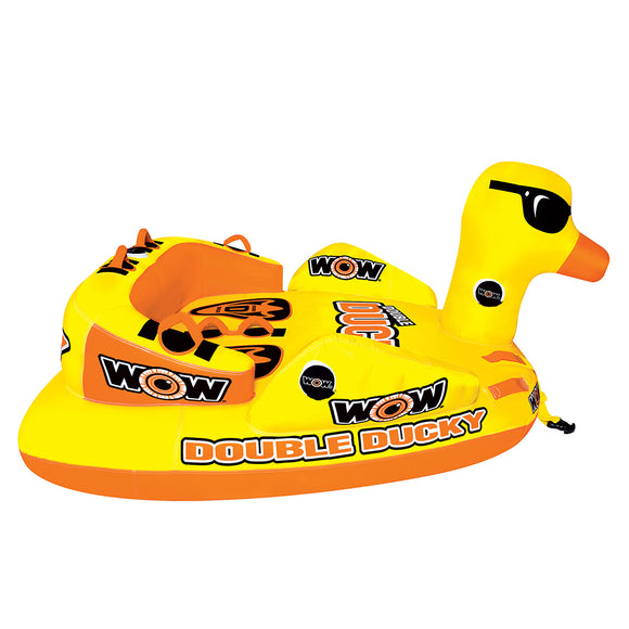 WOW Watersports Double Ducky Towable - 2 Person [19-1050]