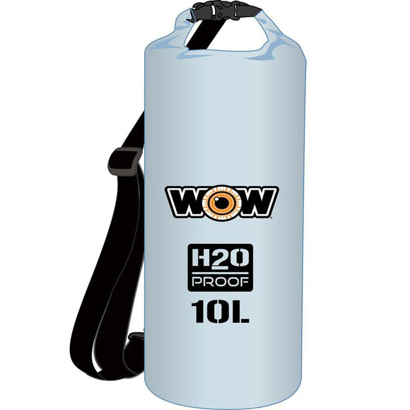 WOW Watersports - H2O Proof Dry Bag - Clear 10 Liter [18-5070C] WOW Watersports Point Supplies Inc.