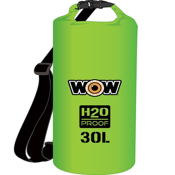 WOW Watersports H2O Proof Dry Bag - Green 30 Liter [18-5090G] WOW Watersports Point Supplies Inc.