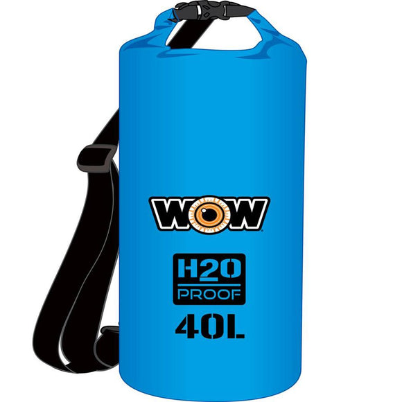 WOW Watersports H2O Proof Dry Bag - Blue 40 Liter [18-5100B] WOW Watersports Point Supplies Inc.