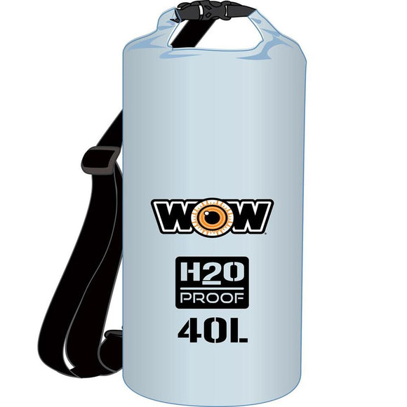 WOW Watersports H2O Proof Dry Bag - Clear 40 Liter [18-5100C] WOW Watersports Point Supplies Inc.