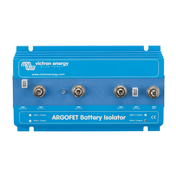 Victron Argo FET Battery Isolator 200-3 3 Batteries - 200AMP [ARG200301020] - Point Supplies Inc.