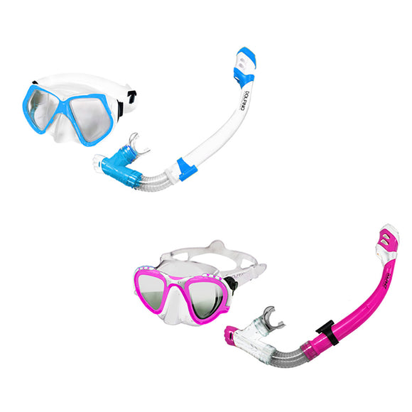 Aqua Leisure Gemini Pro Adult Combo Dive Set Mask  Snorkel *Assorted Colors [DPC17864A2P4]