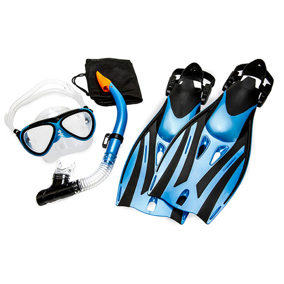 Aqua Leisure Ion Junior 5-Piece Dive Set - Ages 7+ Childrens Size 9.5-13.5 [DPX5976S1L]