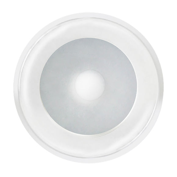 Shadow-Caster DLX Series Down Light - White Housing - White/Blue/Red [SCM-DLX-WBR-WH]