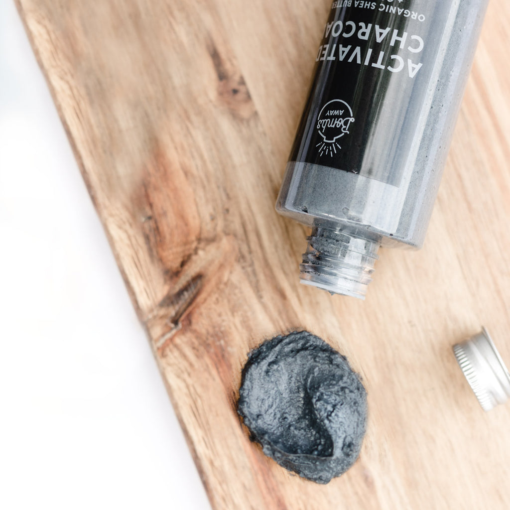 Handmade Activated Charcoal Body Wash - Bombs Away Shop