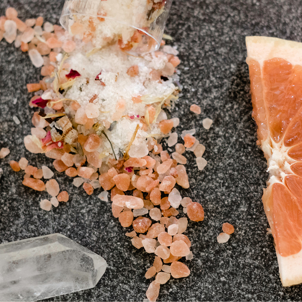 Himalayan Grapefruit Bath Salts - Bombs Away Shop