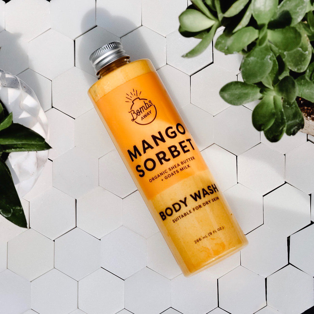 Mango Sorbet Body Wash - Bombs Away Shop