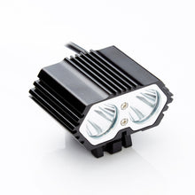 1pc 6000LM 2 LED USB Waterproof Lamp Bike Bicycle Headlight Bicycle  Accessories