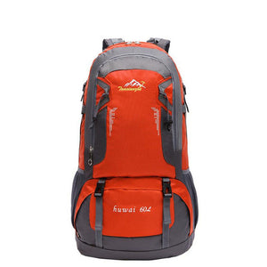 60L Pro Outdoor Hiking Bag Camping Travel Waterproof Mountaineering Backpack  Outdoor Travel Sport Hiking Bag#