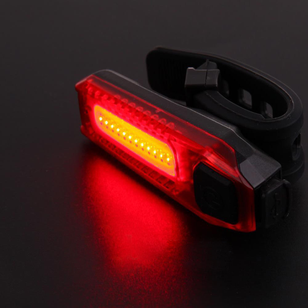 120LM Red LED Cycling Bike Taillight Safety Warning  Lamp Flashing Alarm Cycling Light Bicycle Accessories #EW