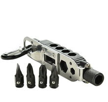 EDC Survival Gear With LED Light Multi -Tool Outdoor Tools