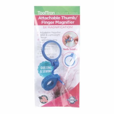Attachable Thumb and Finger Magnifier