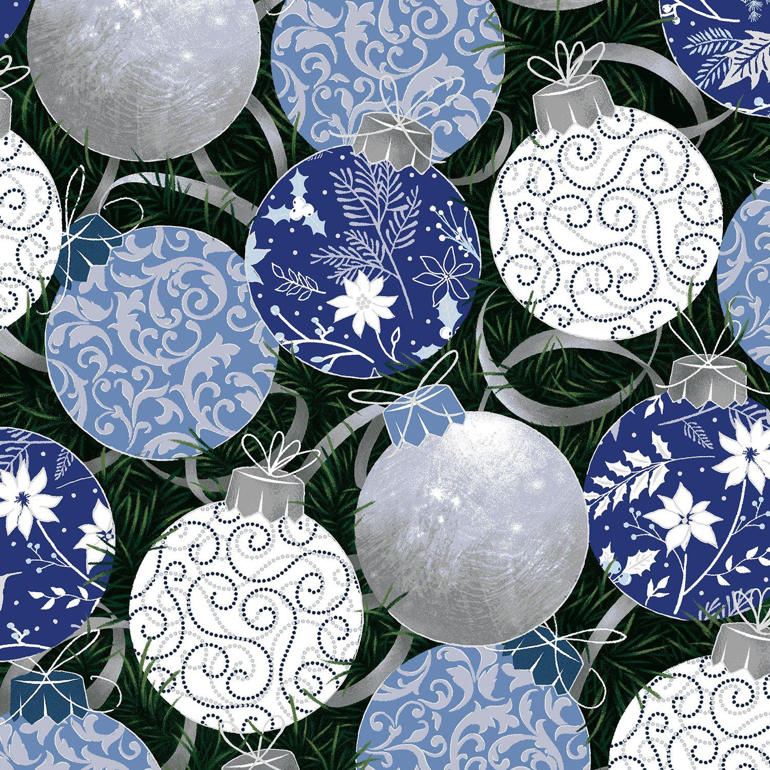 Blue Holiday - Paintbrush Studio - Balls