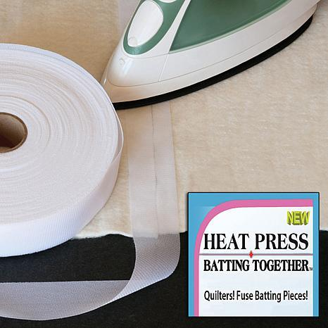 Heat Press Batting Together - Tape