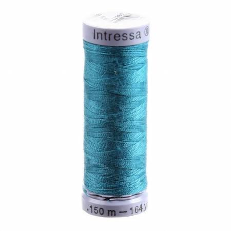 Intressa Thread - 100% Polyester - 164yds - 200-IT814 - Peacock Blue