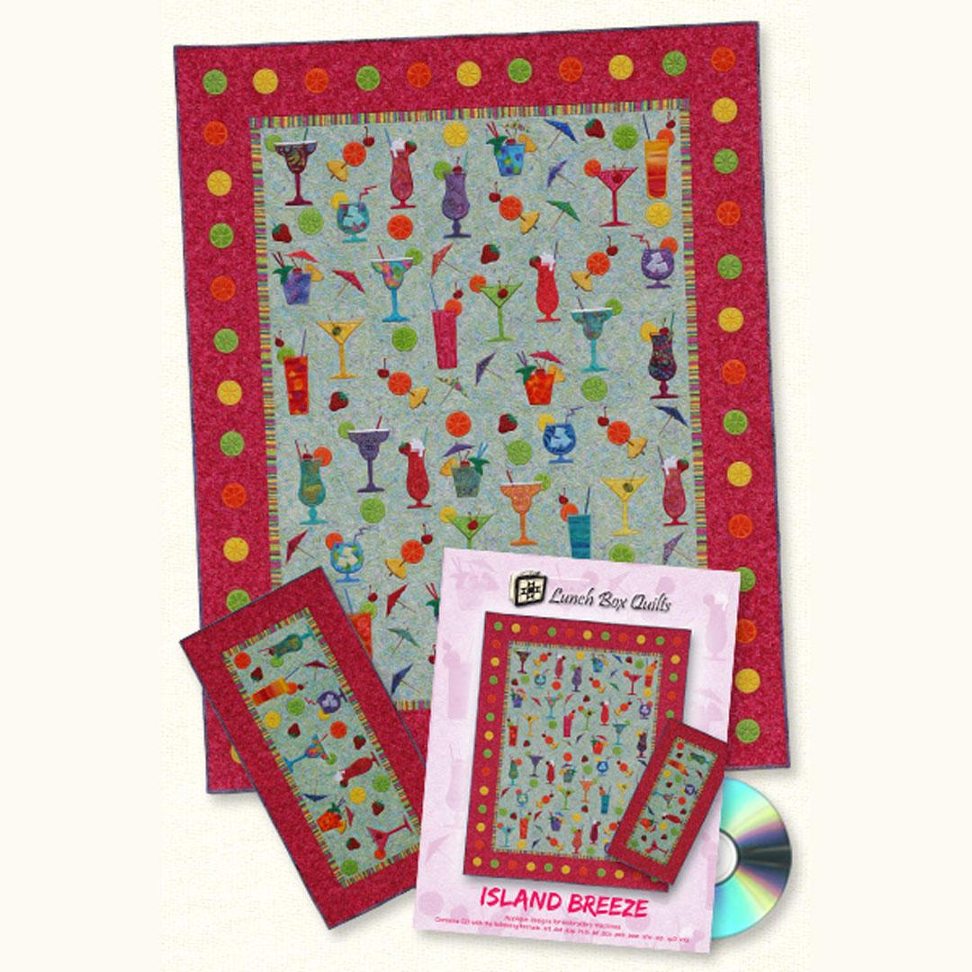 Lunch Box Quilts - Island Breeze