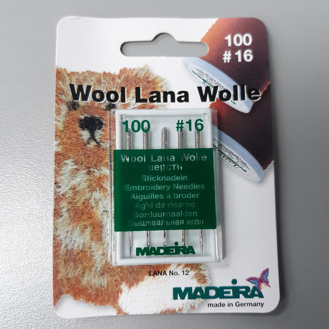 Madeira Embroidery Wool Needle