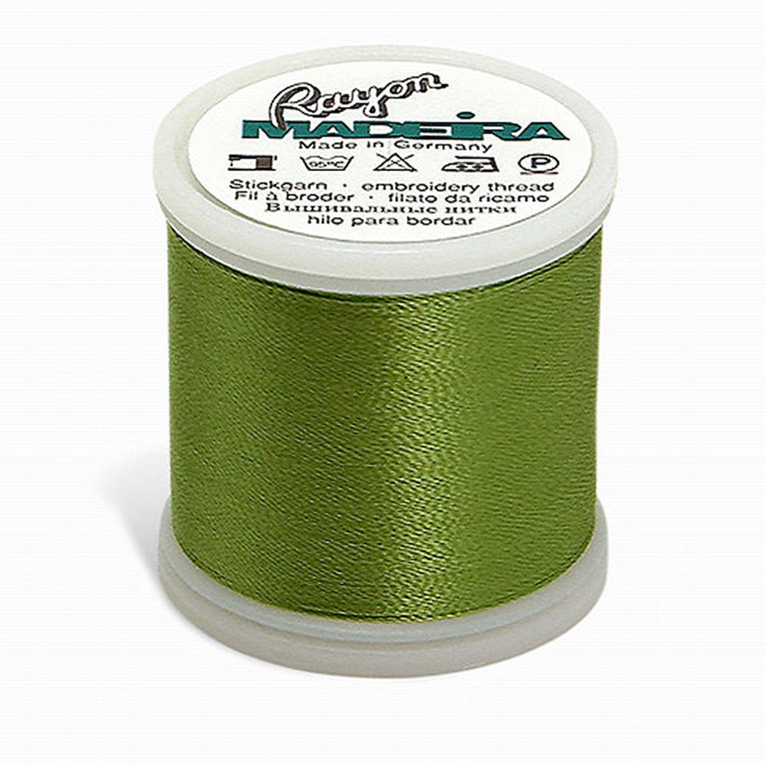 Madeira Rayon - Machine Embroidery Thread - 220YD Spool - Avocado