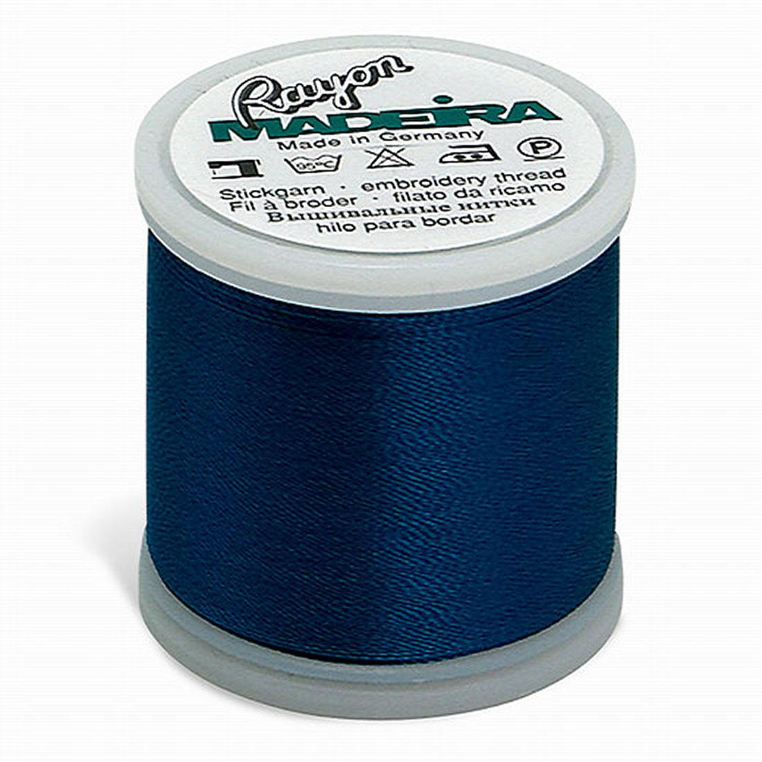 Madeira Rayon - Machine Embroidery Thread - 220YD Spool - Dark Turquoise