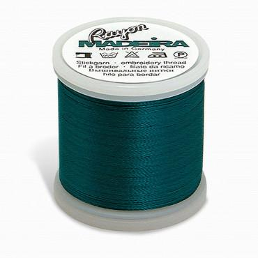 Madeira Rayon - Machine Embroidery Thread - 220YD Spool - Deep Aqua