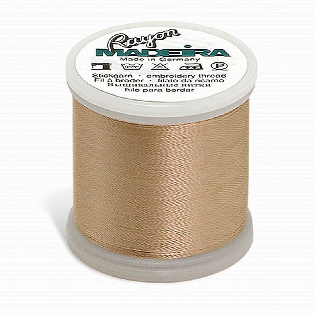 Madeira Rayon - Machine Embroidery Thread - 220YD Spool - Pastel Peach