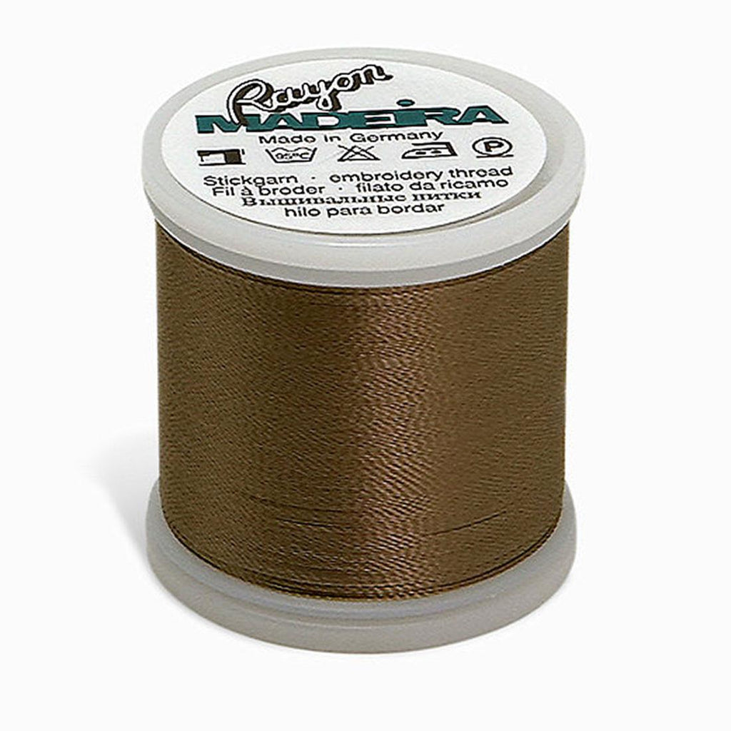 Madeira Rayon - Machine Embroidery Thread - 220YD Spool - Toast