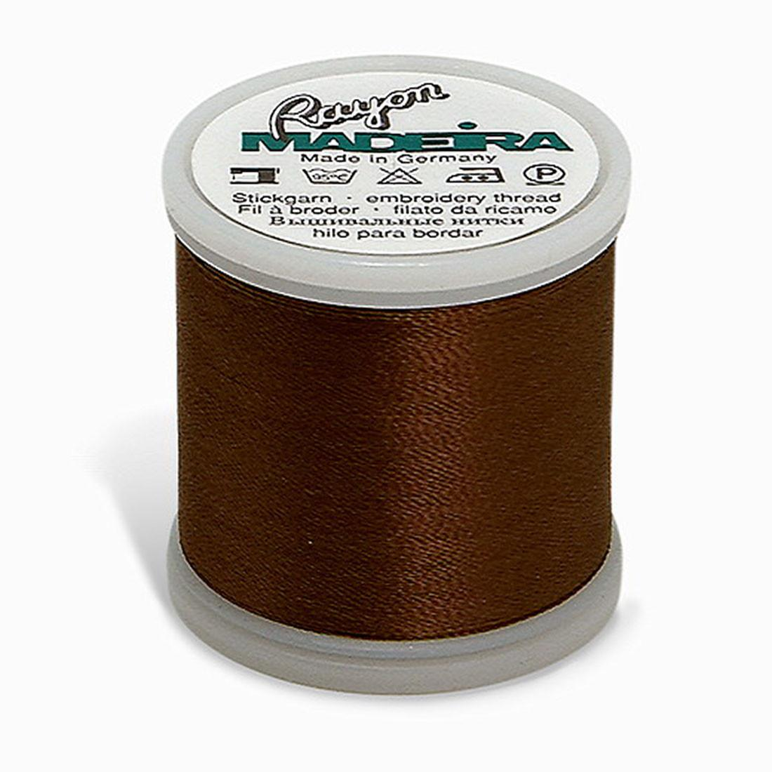Madeira Rayon 220YD - Light Brown