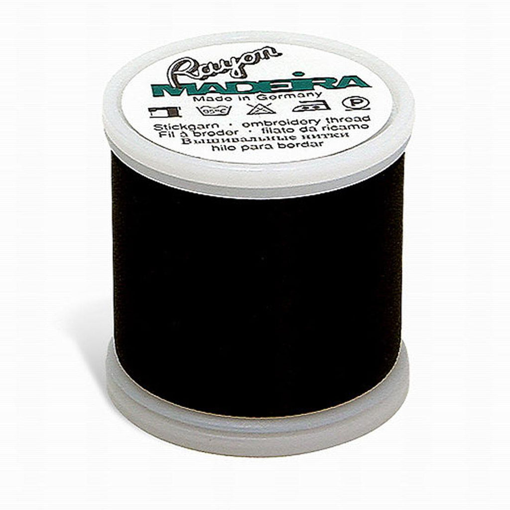 Madeira Rayon 220YD Color 1000 - Black