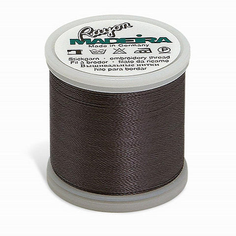 Madeira Rayon 220YD Color 1041 - Medium DK Grey