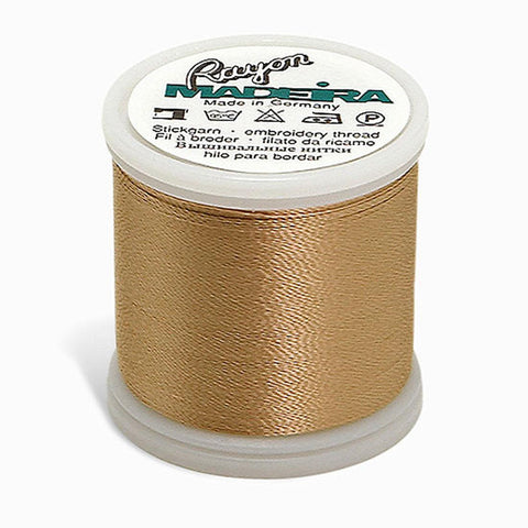 Madeira Rayon 220YD Color 1055 - Tawny Tan