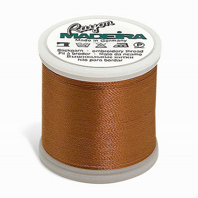 Madeira Rayon 220YD Color 1057 - Medium Tawny Tan