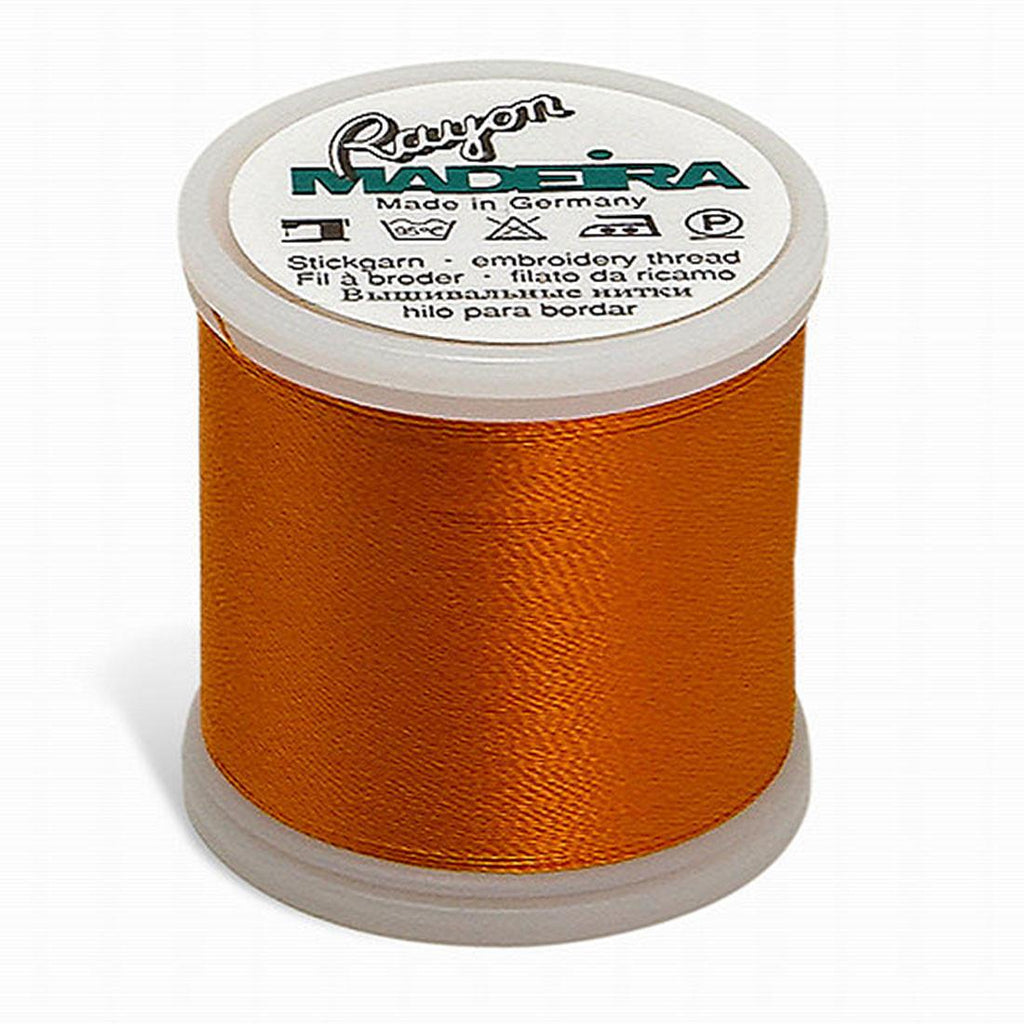 Madeira Rayon 220YD Color 1065 - Orange Sunrise