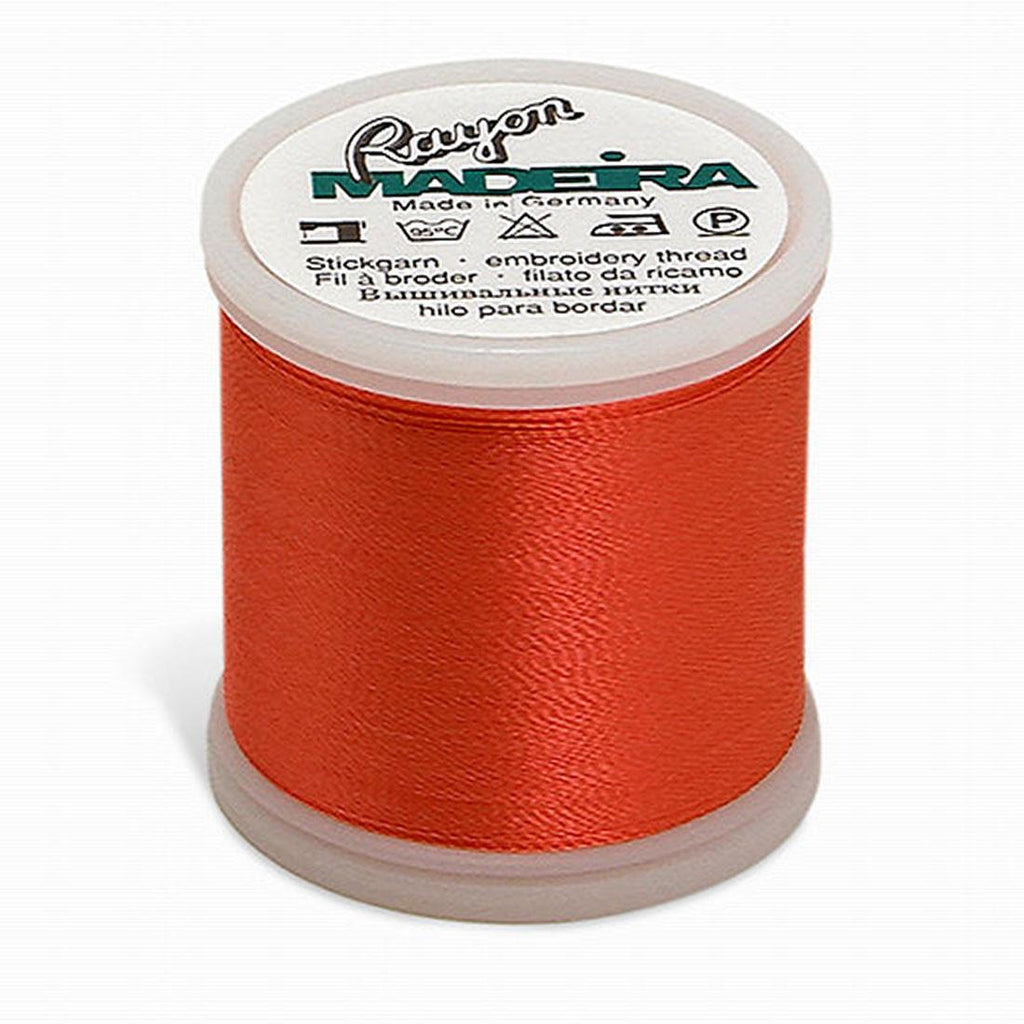 Madeira Rayon 220YD Color 1107 - Coral