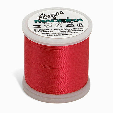 Madeira Rayon 220YD Color 1117 - Deep Rose