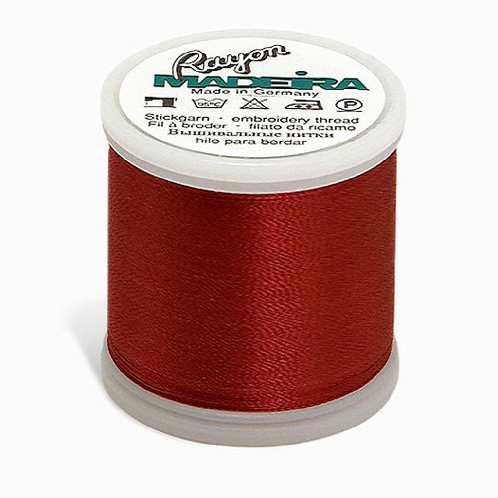 Madeira Rayon 220YD Color 1119 - Medium Burgundy
