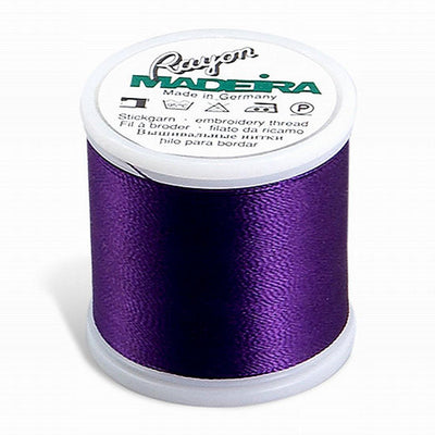 Madeira Rayon 220YD Color 1122 - Dark Purple