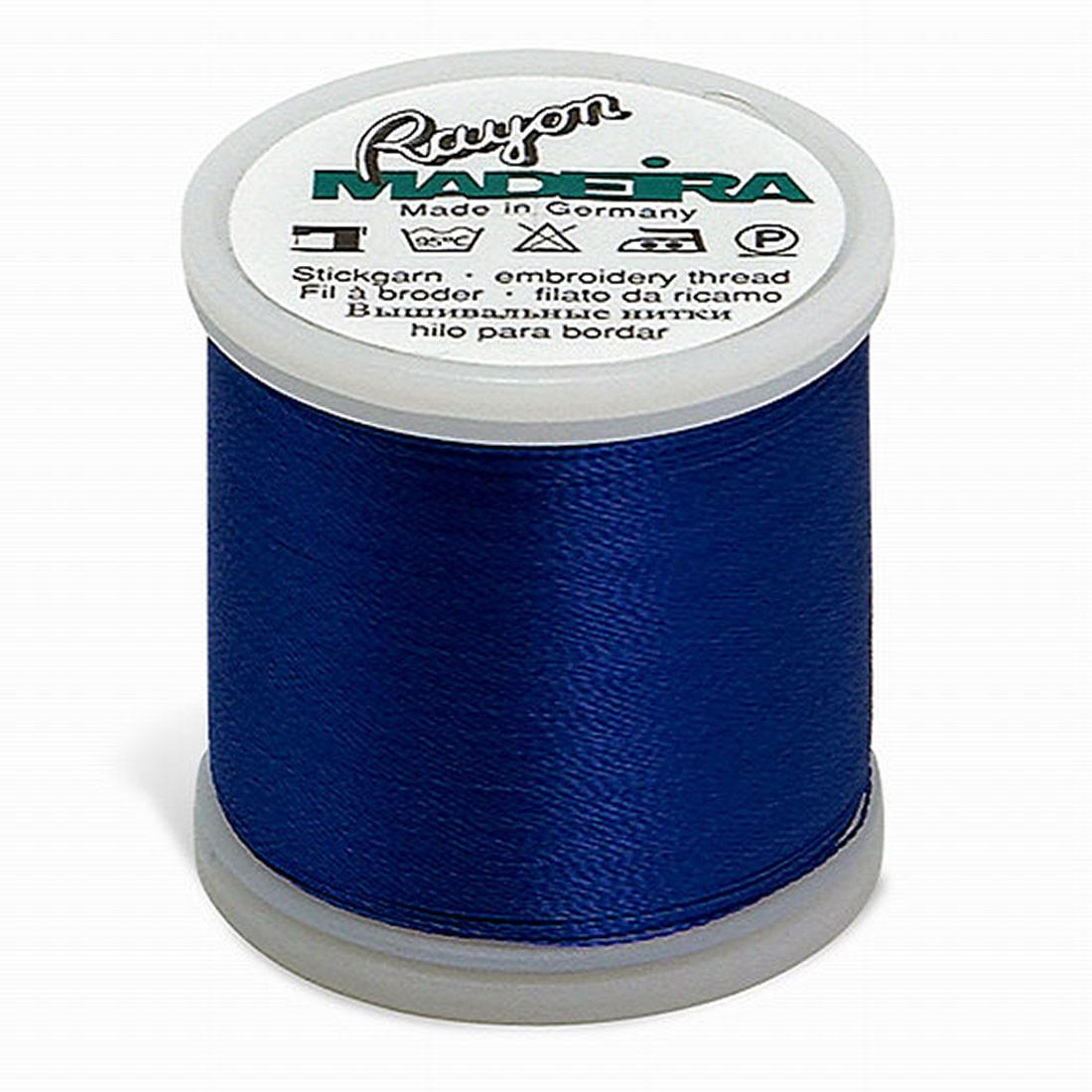 Madeira Rayon 220YD Color 1134 - Dark Blue