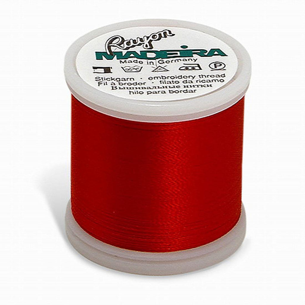 Madeira Rayon 220YD Color 1147 - Christmas Red