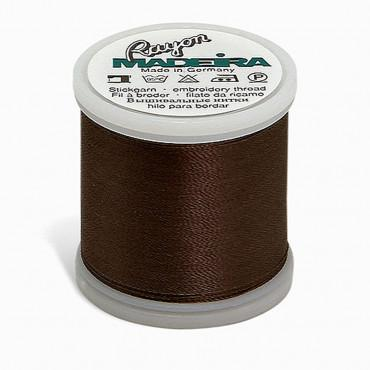 Madeira Rayon 220YD Color 1240 - Charcoal Grey