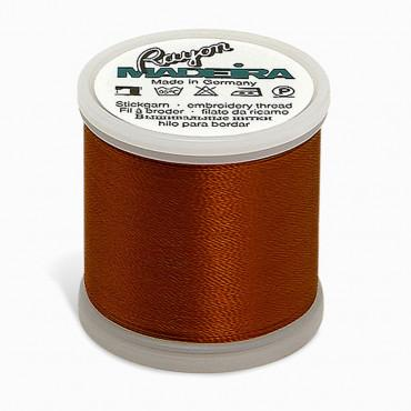 Madeira Rayon 220YD Color 1257 - Dark Maple