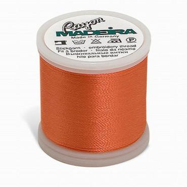 Madeira Rayon 220YD Spool - Bright Peach