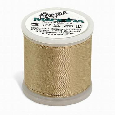 Madeira Rayon 220YD Spool - Medium Ecru