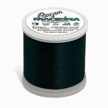 Madeira Rayon 220YD Spool - Midnight Teal
