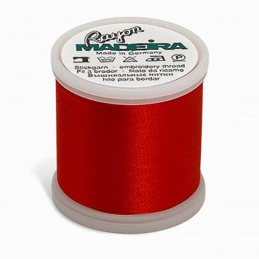 Madeira Rayon 220YD Spool - True Red