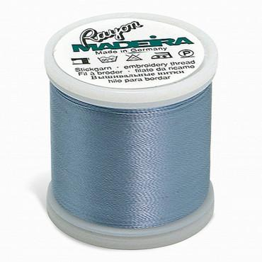 Madeira Rayon 220YD Spool 1027 - Pale Powder Blue